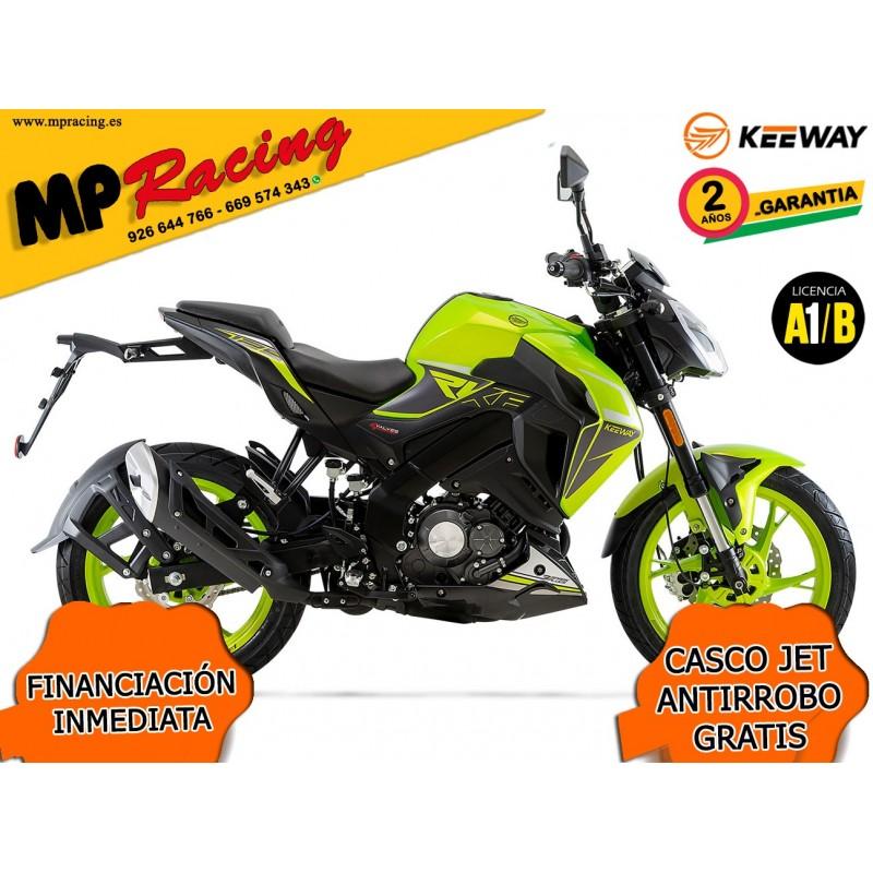 MOTO KEEWAY RKF 125 2020 VERDE LIMA MP