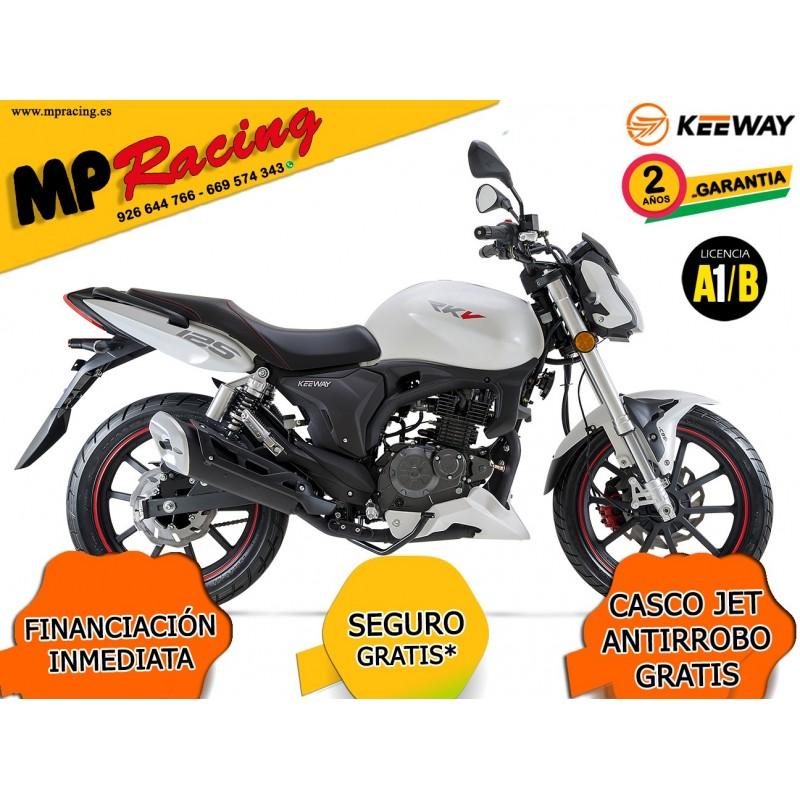 MOTO KEEWAY RKV 125 BLANCA MP