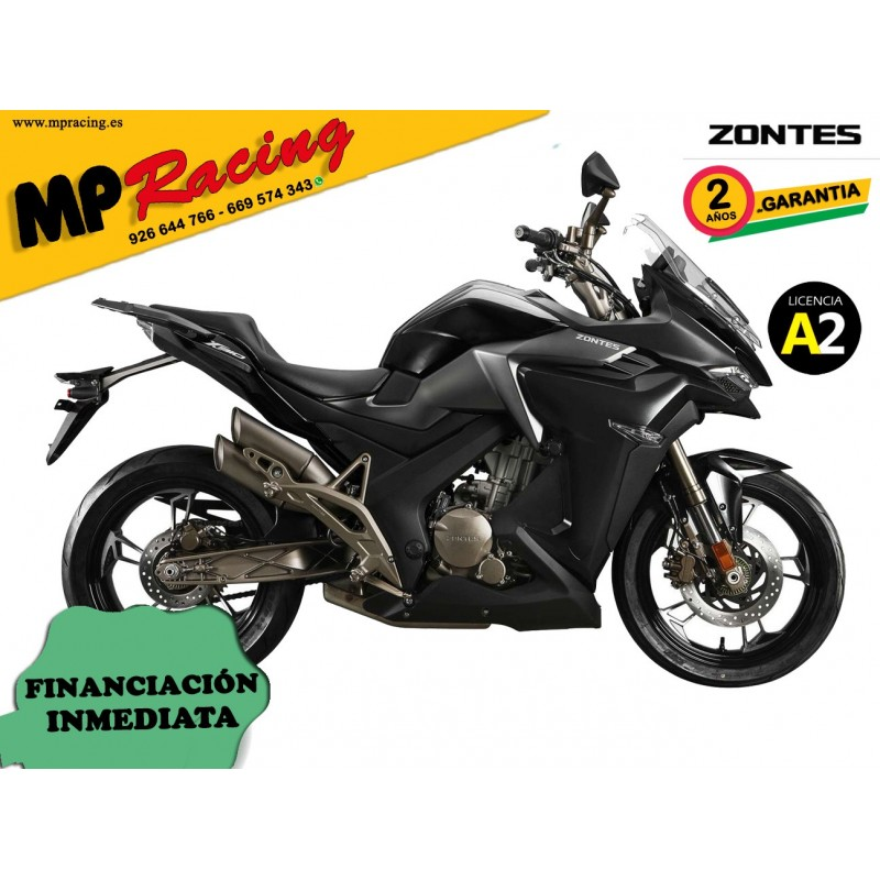 Moto Zontes X-310 - Negro