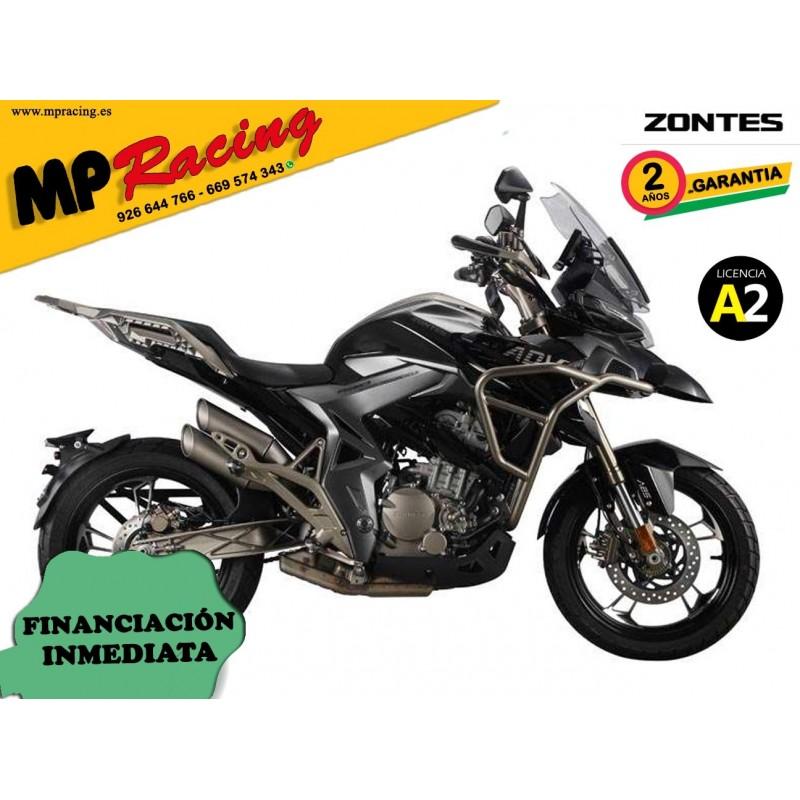 Moto Zontes T-310 - Negro