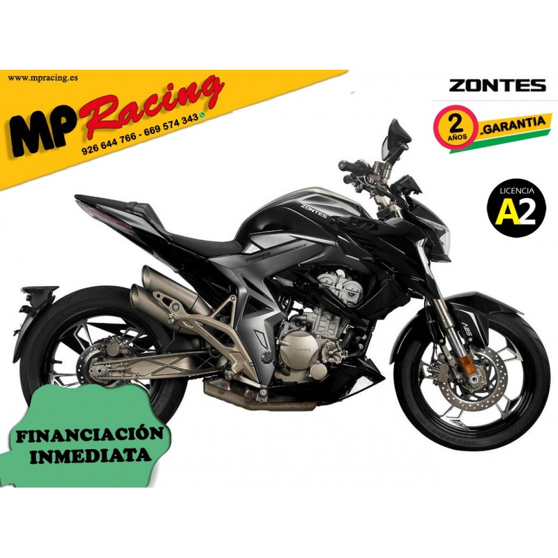 Moto Zontes R-310 - Negro