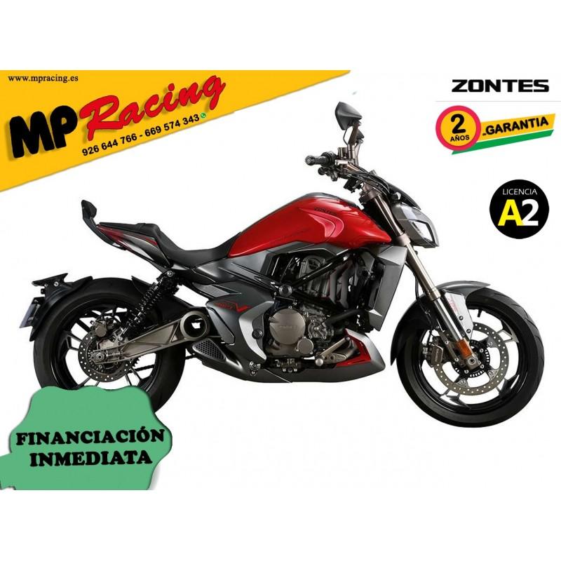 Moto Zontes V-310 roja mp