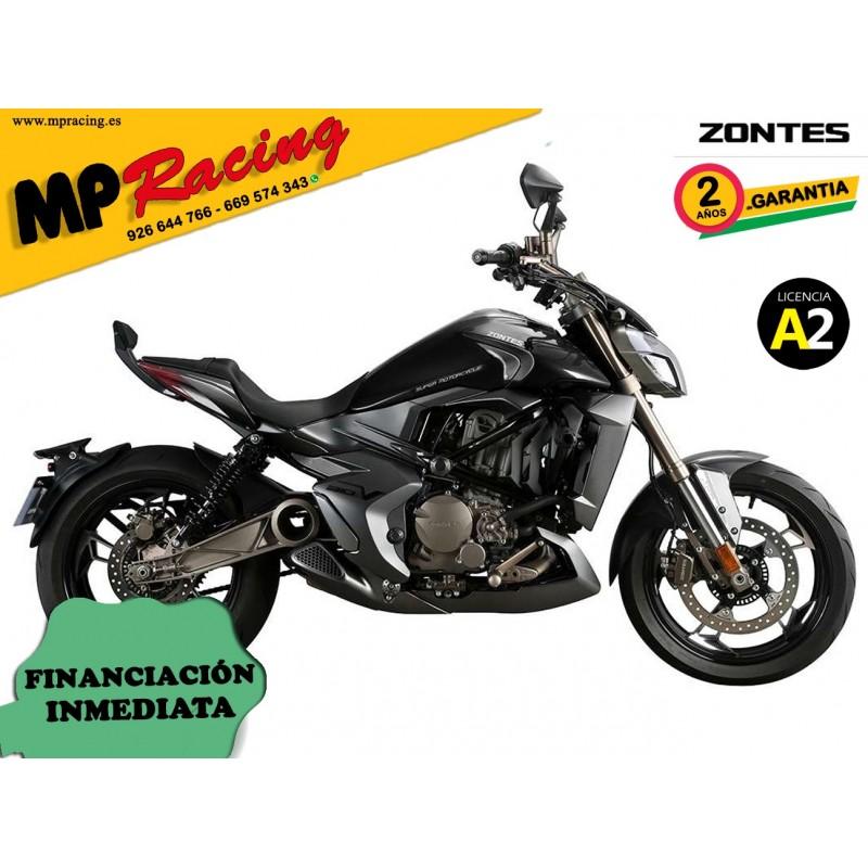 Moto Zontes V-310 negra mp