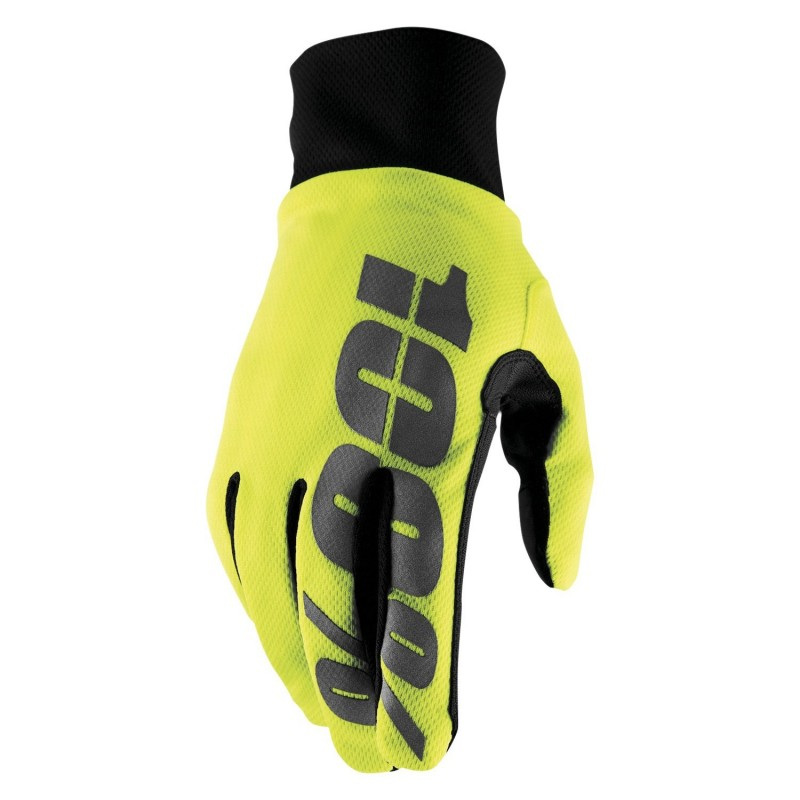 Guantes RIDE 100% HYDROMATIC - fluo