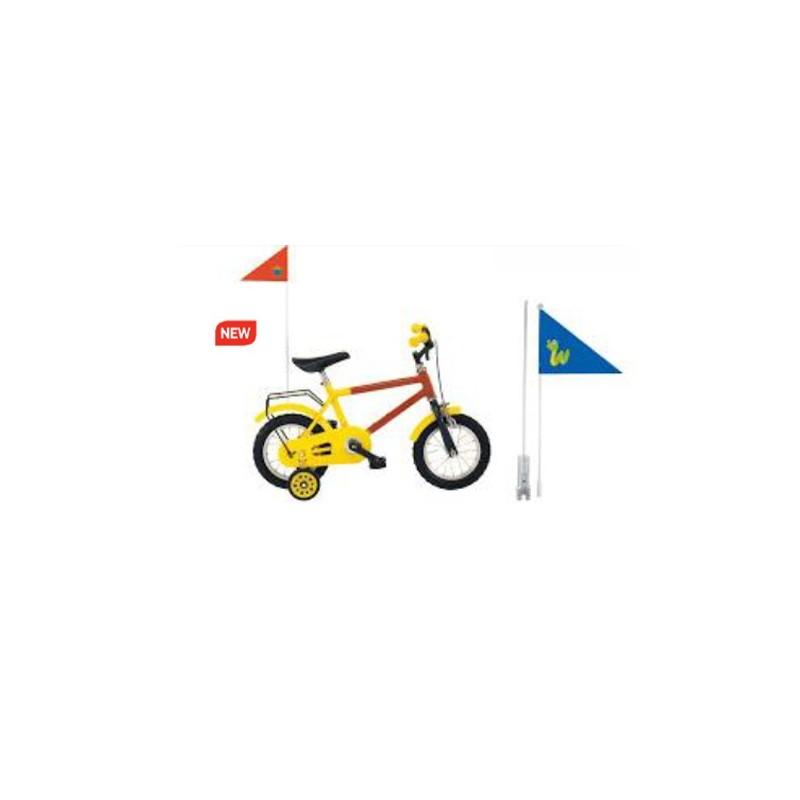 Bandera para bici niño...