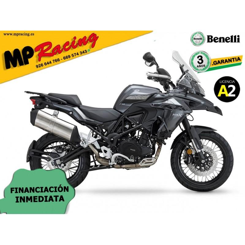 BENELLI TRK 502X 2020 CON KIT MALETAS BENELLI GRIS MP