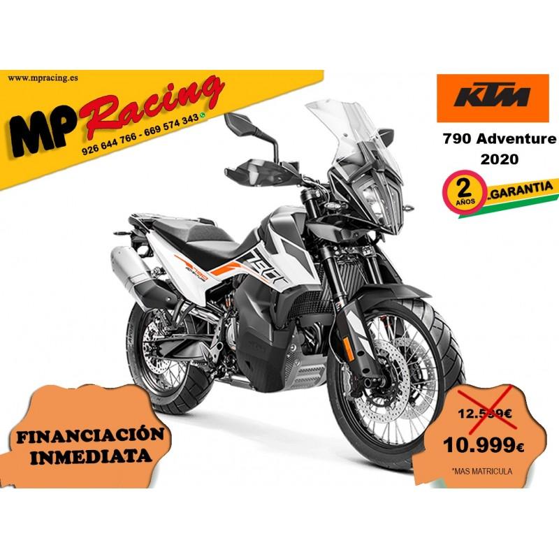 KTM 790 ADVENTURE 2020 BLANCA