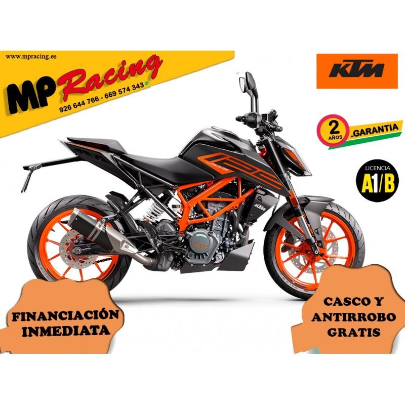 KTM 125 DUKE 2021 - Negro