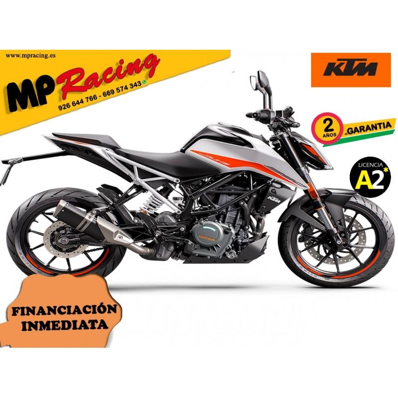 KTM 390 DUKE 2021 - Blanco