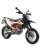 MOTO SUPERMOTO KTM