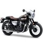 Motos kawasaki estilo vintage