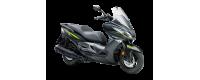 motos kawasaki tipo scooter